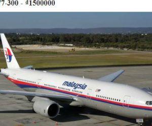 Le Boeing 777 de Malaysia Airlines en vente sur Craigslist