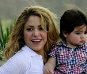 Shakira comblée par son fils Milan et son époux Gérard Piqué