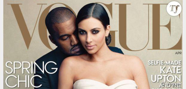 Kim Kardashian copie Kate Middleton pour sa robe de mariée