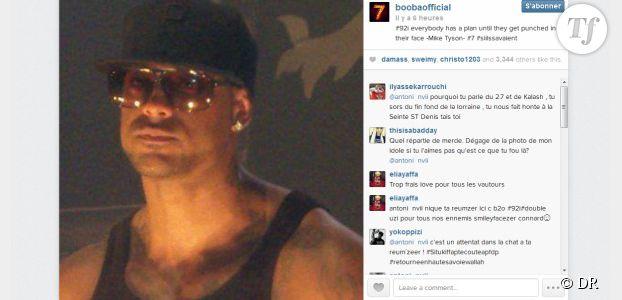 Booba en mode Mike Tyson contre Kaaris ?