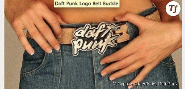 Daft Punk se lance dans les produits dérivés et goodies