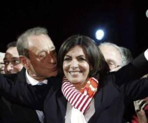Anne Hidalgo et ses collègues : 12,68% de femmes maires en France
