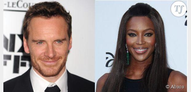 Michael Fassbender en couple avec Naomi Campbell ?