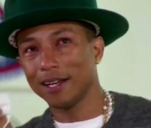 Oprah Winfrey fait pleurer Pharrell Williams (vidéo)