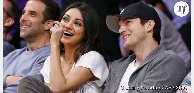 Mila Kunis et Ashton Kutcher attendent une fille