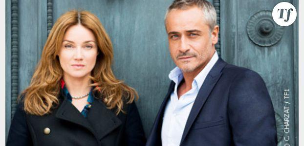 Marine Delterme (Alice Nevers) s'amuse avec Jean-Michel Tinivelli et George Clooney