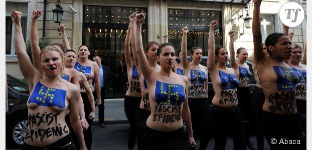 Femen : nouveau QG à Clichy et accrochages avec l'extrême droite