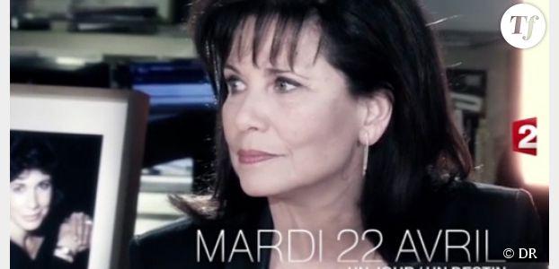 Un jour, un destin : les confessions d'Anne Sinclair sur France 2 Replay / Pluzz