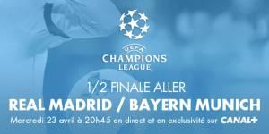 Real Madrid vs Bayern Munich : peut-on voir le match en streaming sur Internet ? (23 avril)