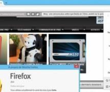 Firefox : une nouvelle interface pour le navigateur