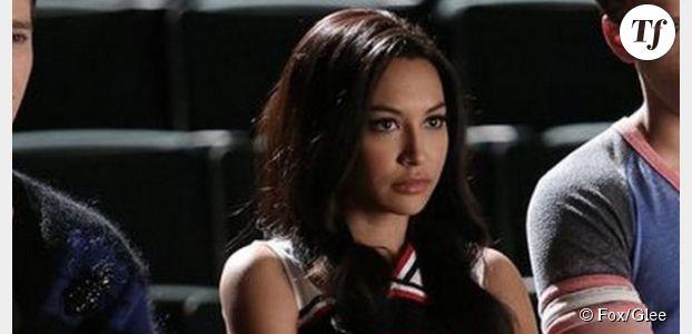 Glee : Naya Rivera (Santana) n'est pas virée du casting