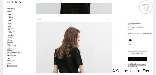 Quand Zara érige l'anorexie en modèle