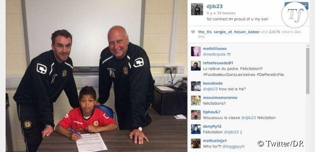 Djibril Cissé : son fils Cassius signe un contrat avec le club anglais de Crewe Alexandra