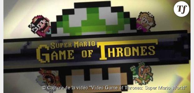 Game of Thrones : un générique façon Mario (vidéo)