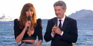 Doria Tillier : décolleté plongeant et déclaration d'amour à Nicolas Bedos dans Le Grand Journal