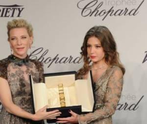 Festival de Cannes 2014 : Adèle Exarchopoulos reçoit le trophée Chopard