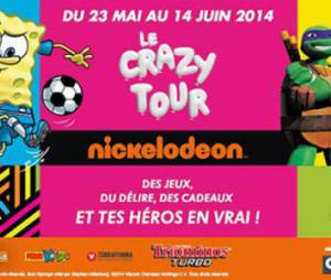 Crazy Tour Nickelodéon: est-ce que Dora et Bob l'éponge passent près de chez vous?