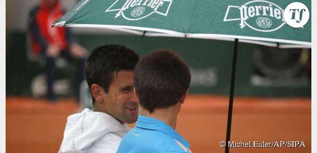 Roland Garros 2014 : Novak Djokovic fait le show avec un ramasseur de balles