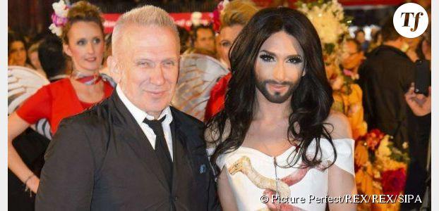 Jean-Paul Gaultier est sous le charme de Conchita Wurst