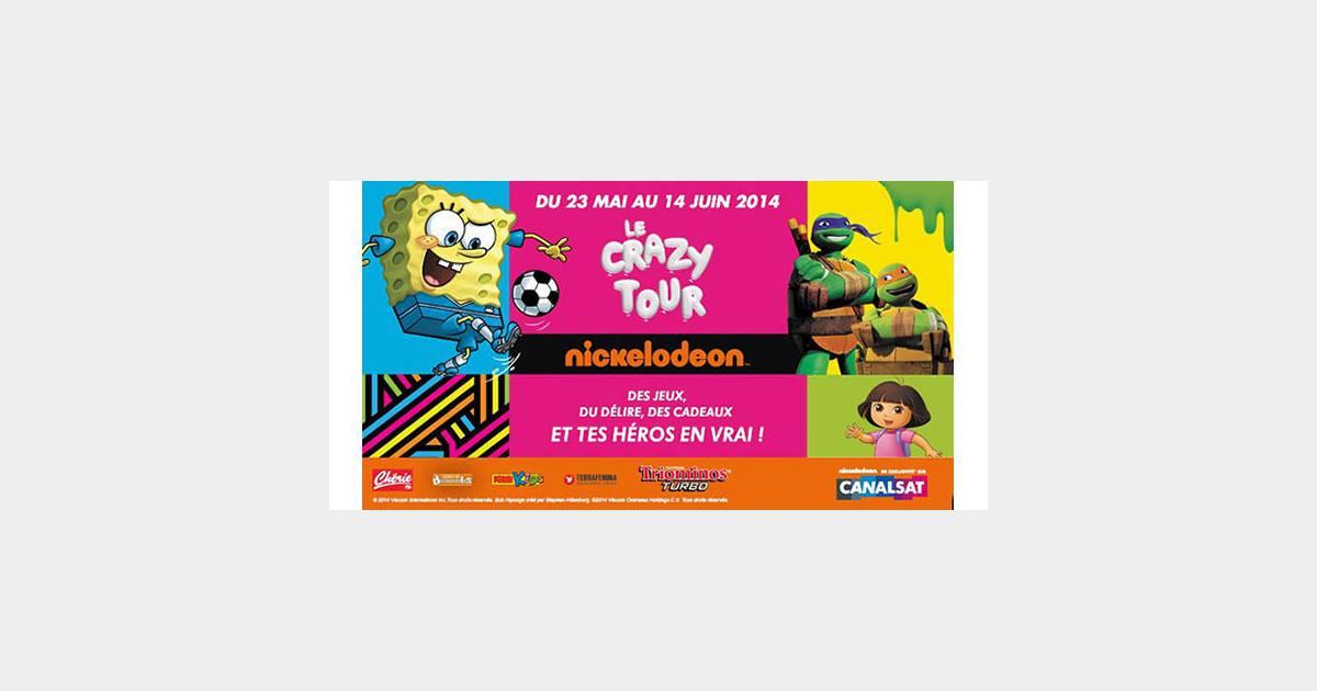 Dora Diego Les Tortues Ninja Et Le Crazytour En Juin