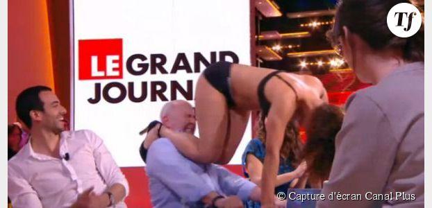 Grand Journal : un strip-tease jugé vulgaire par le CSA (vidéo)
