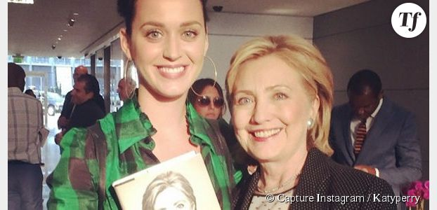 Katy Perry accorde son soutien à Hillary Clinton
