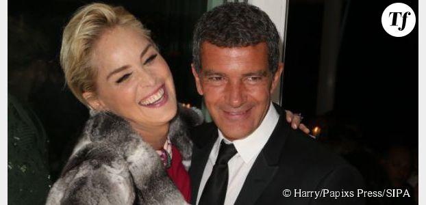 Antonio Banderas en couple avec Sharon Stone ?