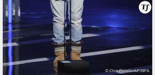 Pharrell Williams fait le buzz avec ses bottes en pattes d'ours