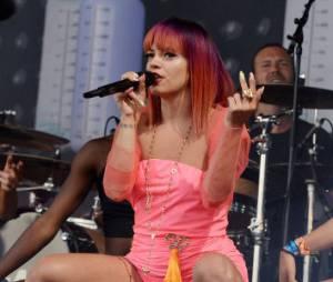 Bangerz Tour : Lily Allen sur scène avec Miley Cyrus