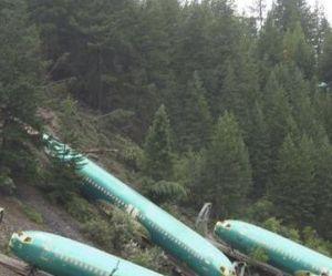 Etats-Unis: des Boeing 737 tombent dans une rivière après le déraillement d'un train