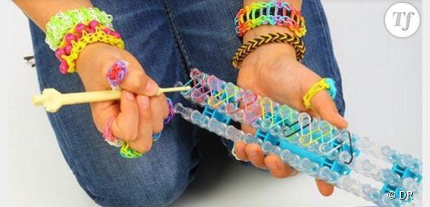 prix raisonnable images détaillées magasin discount Rainbow loom - fabriquer son bracelet élastique à la main ...