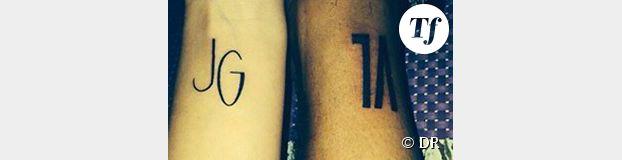 Vanessa Lawrens et Julien Guirado : un tatouage pour déclarer leur amour
