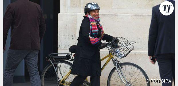 Christiane Taubira ne lâchera pas le vélo