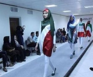 L'Iran censure un défilé de vêtements féminins aux couleurs du drapeau