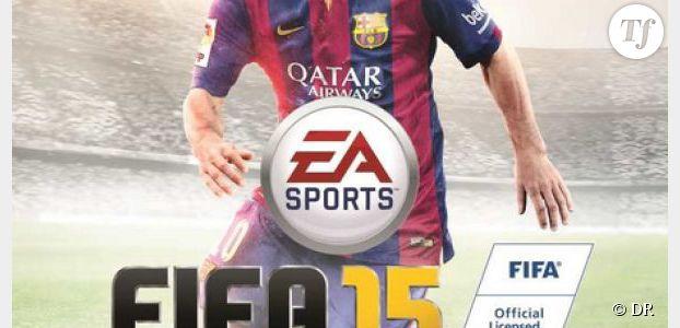 FIFA 15 : Lionel Messi (encore) sur la jaquette