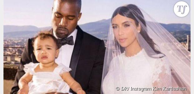 La fille de Kim Kardashian et Kanye West a fait ses premiers pas