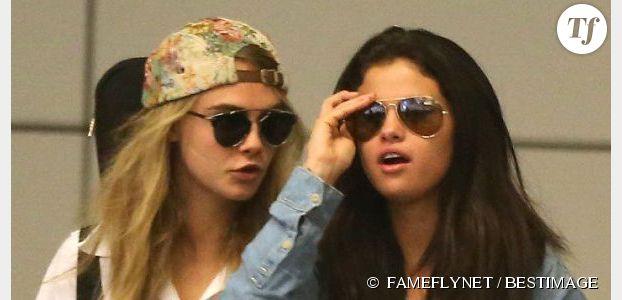Selena Gomez et Cara Delevingne en couple ? Justin Bieber s'inquiète