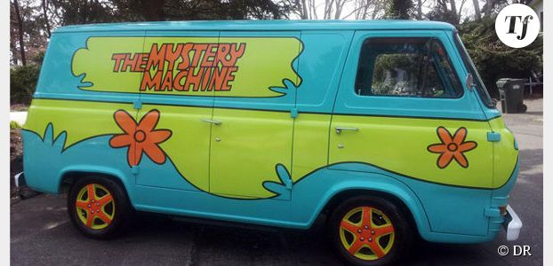 van scooby doo. Black Bedroom Furniture Sets. Home Design Ideas