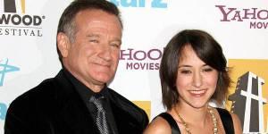 Robin Williams : harcelée après sa mort, sa fille Zelda quitte Twitter et Instagram