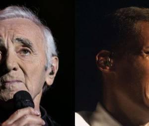 Charles Aznavour ferait bien un duo avec Stromae