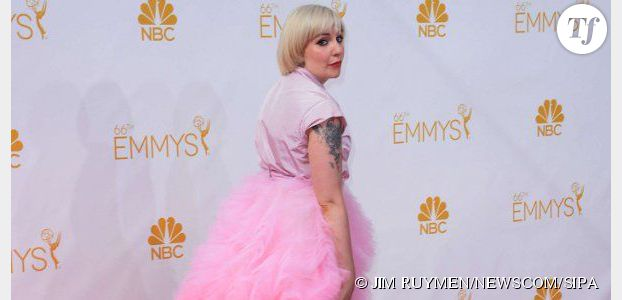 Lena Dunham : qu'est-ce qu'elle a cette robe des Emmy Awards ?