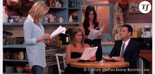 Friends : les filles rempilent pour Jimmy Kimmel et c'est raté