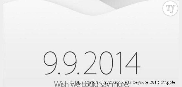 iPhone 6 : Apple confirme son keynote pour le 9 septembre