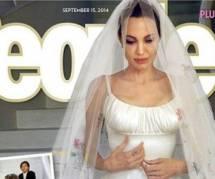 Brad Pitt et Angelina Jolie : les photos du mariage