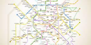 Paris : trouvez une adresse burger à chaque station de métro – carte