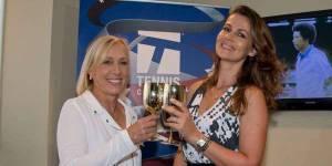 US Open : Martina Navratilova demande la main de sa compagne en direct
