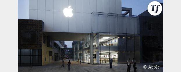 La Chine contrefait même les Apple Stores !