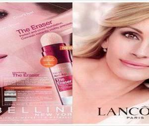 L'Oréal : Julia Roberts et Christy Turlington censurées pour publicité mensongère