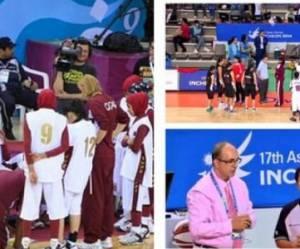 Basket : non-autorisées à jouer avec leur voile, les Qataries boycottent la compétition