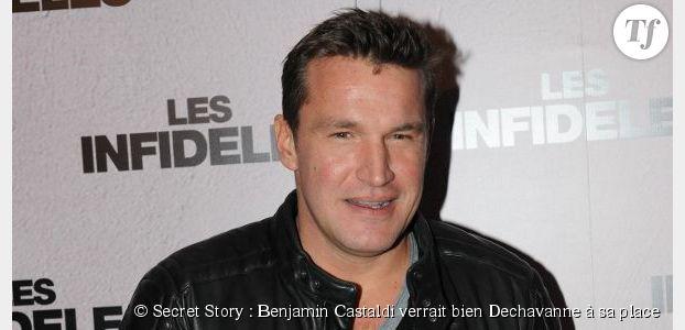 Secret Story : Benjamin Castaldi verrait bien Dechavanne à sa place